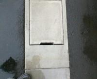 側溝のふた