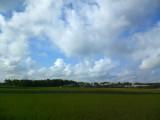 9月5日那須高原の空