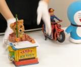 おもちゃの実演