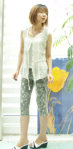 キャサリン パンツ迷彩
