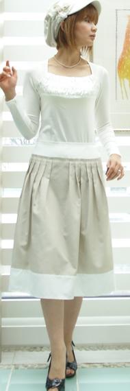 キャサリンハーネルのスカート& フォーフォレin