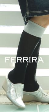 2 フェリーラ 白×(水色ほとんど白)