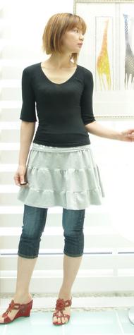 フランスブランドのスカート 8900円