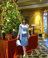 4 キャサリン ホテルロビー クリスマスツリー