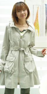 プリマベーラのコート 26000円の消費税27300円