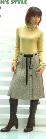3 マリードールのニット &キャサリンのスカート