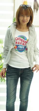 1 キャサリンハーネルパーカー& Tシャツ