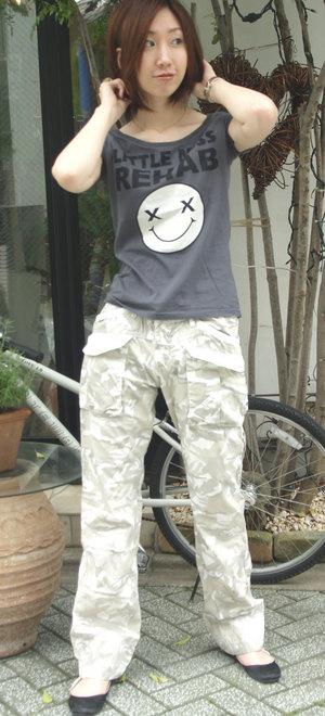 迷彩パンツ 12900円 イタリーものです