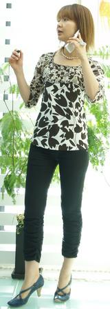 irise パンツ 黒