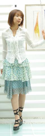 2 インポートスカート 14900円 ブルー
