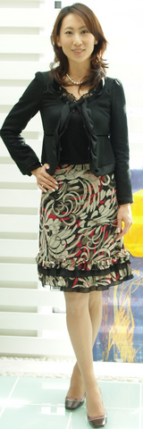 iriseジャケット35000円 HONKYTONKスカート16800円