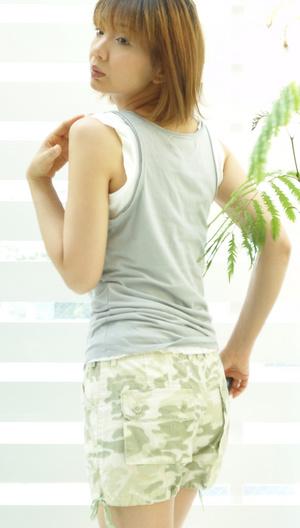 迷彩パンツ バッグスタイル