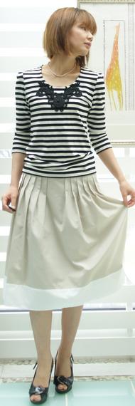 8F-1405キャサリンハーネルスカート 16800円