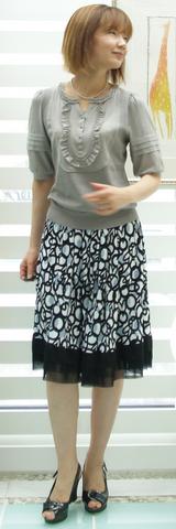 3 ププラのスカート