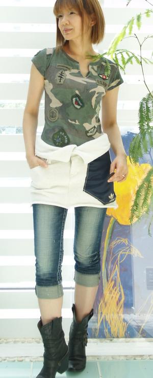 プリマベーラ オーバースカート ¥17640 S Mサイズ