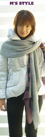 1 honkytonkシルバーのジャケットコート