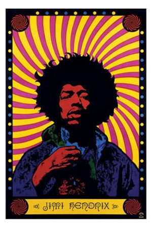 Jimi-Hendrix-Psychedelic-Poster