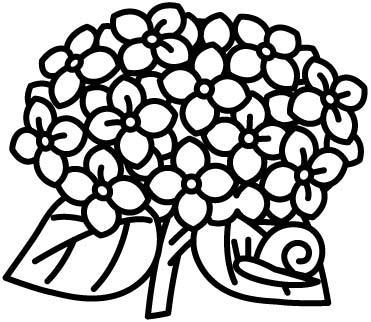 すべての講義 あじさいの絵 : ぬり絵リラックス(無料ぬり絵 ...