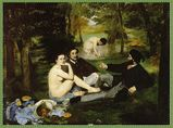 エドゥアール・マネ 『草上の昼食』 原画