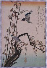 梅に小鳥 原画