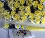 父の日に黄色いバラ(笹だんごママ)
