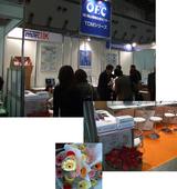 東京デンタルショーでのオフィスウエーヴのブース