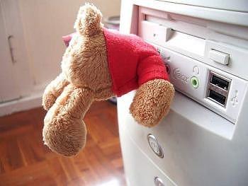 USBテディベア02
