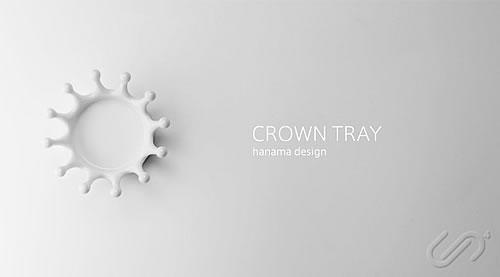 DUENDE-Milk Crown Tray1