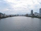 鏡川大橋から