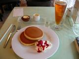 フルーツホットケーキ1