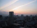 33階の夕日