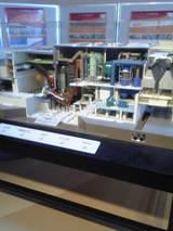 会議室前の模型
