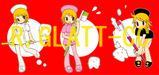 鹿山ちゃんイラストカード3種