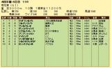 第13S:10月4週 菊花賞 成績