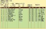 第13S:03月1週 中山記念 成績
