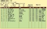 第10S:08月4週 アイビスサマーダッシュ 競争成績