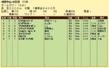 第13S:09月5週 オールカマー 成績