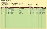 第9S:06月5週 泥@アイランドキッス 競争成績