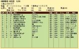 第11S:08月2週 泥@レイダウンソード 競争成績