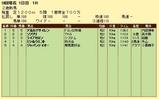 第11S:08月3週 泥@アルカナサイレン 競争成績