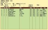 第10S:03月2週 弥生賞 競争成績