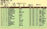 第11S:05月2週 京都新聞杯 競争成績