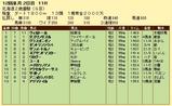 第13S:11月2週 北海道2歳優駿 成績