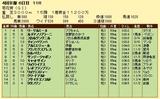 第7S:10月4週 菊花賞 競争成績