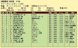 第13S:08月2週 サマーチャンピオン 成績