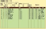第15S:03月5週 ドバイGS 成績