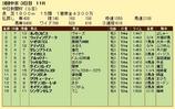 第9S:12月3週 中日新聞杯 競争成績