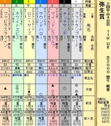 第10S:03月2週 弥生賞 出馬表