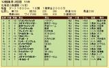 第4S:11月2週 北海道2歳優駿 競争成績