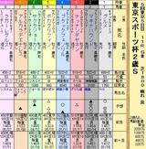 第16S:11月4週 東京スポーツ杯2歳S